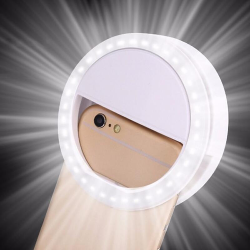 36 Led Stepless Adjusted Selfie Ring Flash Light Camera Enhancing Photography Luminous Lamp For IPhone7 6 Samsung S5 S4