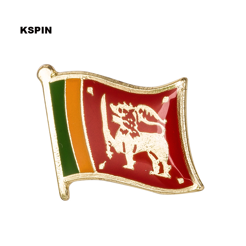 Aufnäher Patch Stickt Drucke Souvenir Backpack Flagge Sri Lanka Sri Lanka
