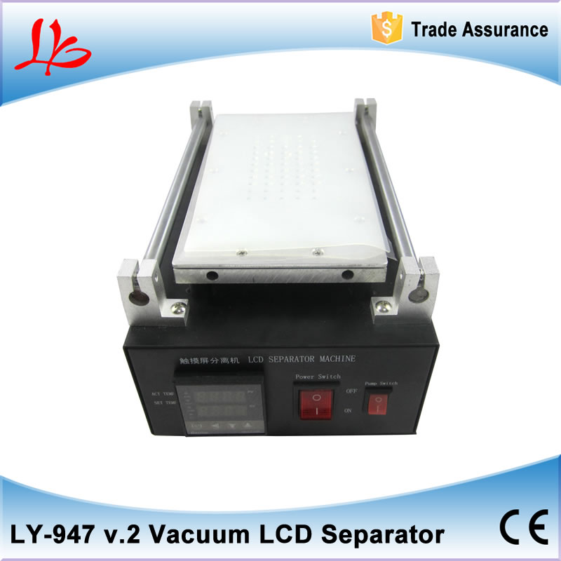 Build-In Air Pump Vacuum LCD Separator Machine Screen Repair Machine Kit For iPhone Samsung with Cutting Line non-slip mat 3 in 1 for sumsung bezel middle frame separator vacuum glass panel lcd screen separator preheater