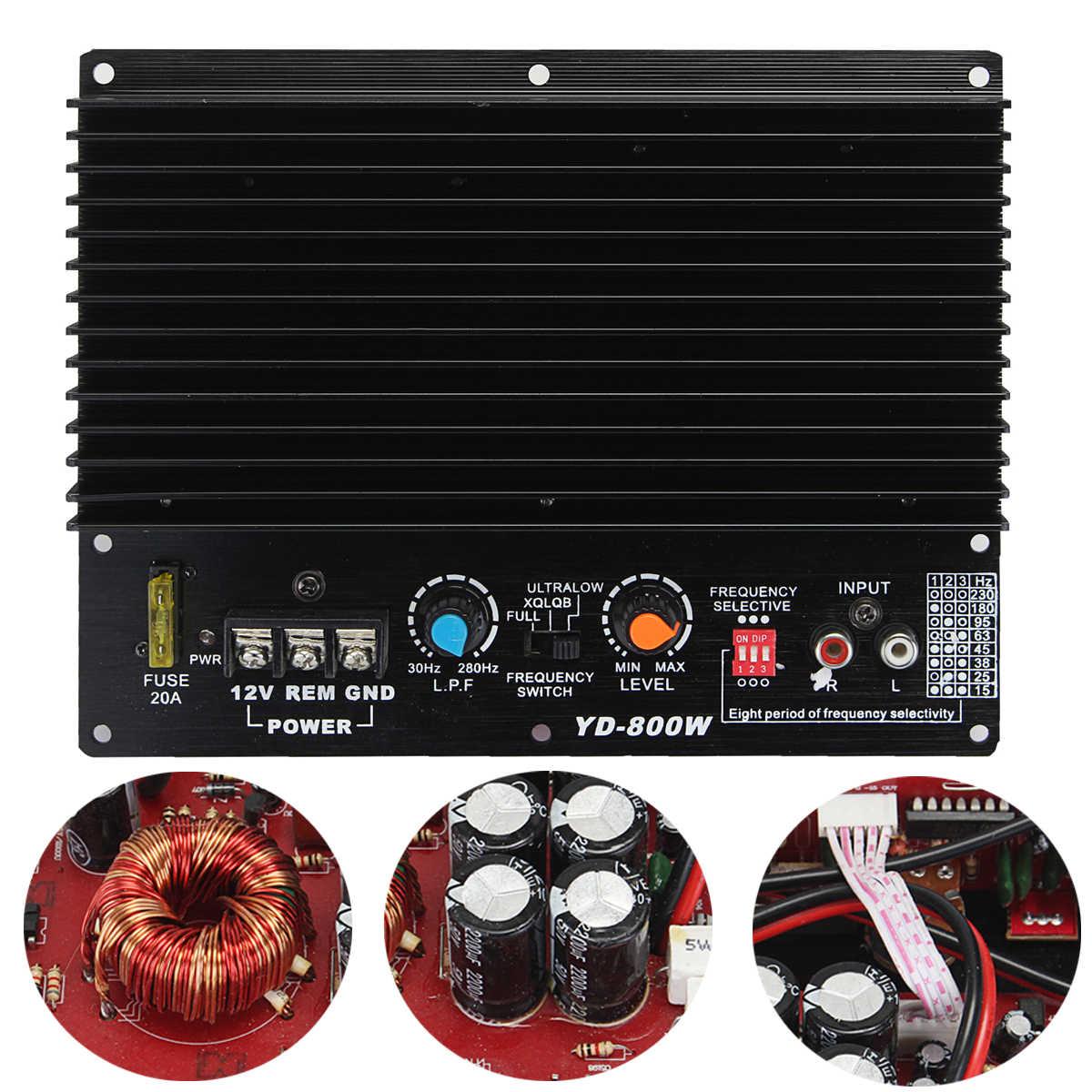 Авто аудио HiFi высокое мощность сабвуфер 200 Вт 12 В в сабвуфер усилители домашние доска Amp Mb