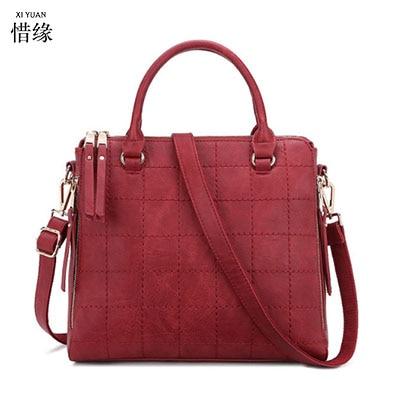 Qualité À Épaule Femmes Dames En D'été Marque pourpre Body tout Cross Mode Xiyuan Messenger gris Haute Sacs Main Noir rouge Fourre Cuir Partie De W4CqIU