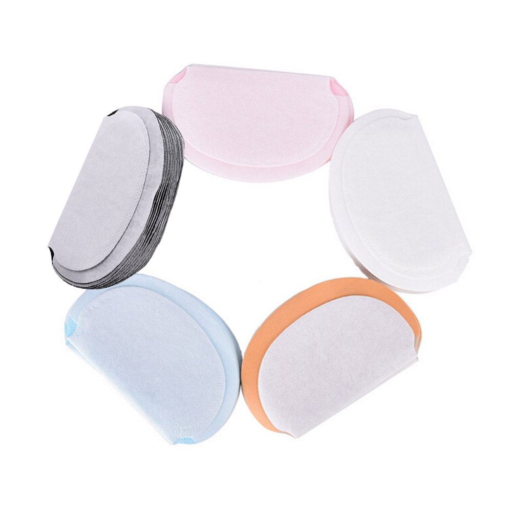 10 Pcs 5 Colors New Summer Deodorants Underarm Sweat Pads Dress Clothing Perspiration Pads For Women Absorbing Pads For Armpits
