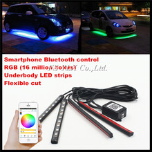 Foot-Light AUDI Drl-Strips Atmosphere-Lamp Led Interior Bluetooth Rgb FSYLX for A3 S3