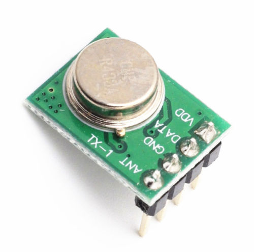 433Mhz Wireless Transmitter ASK AM FSK DC 3-12V Perfect For Arduino/ARM/AVR