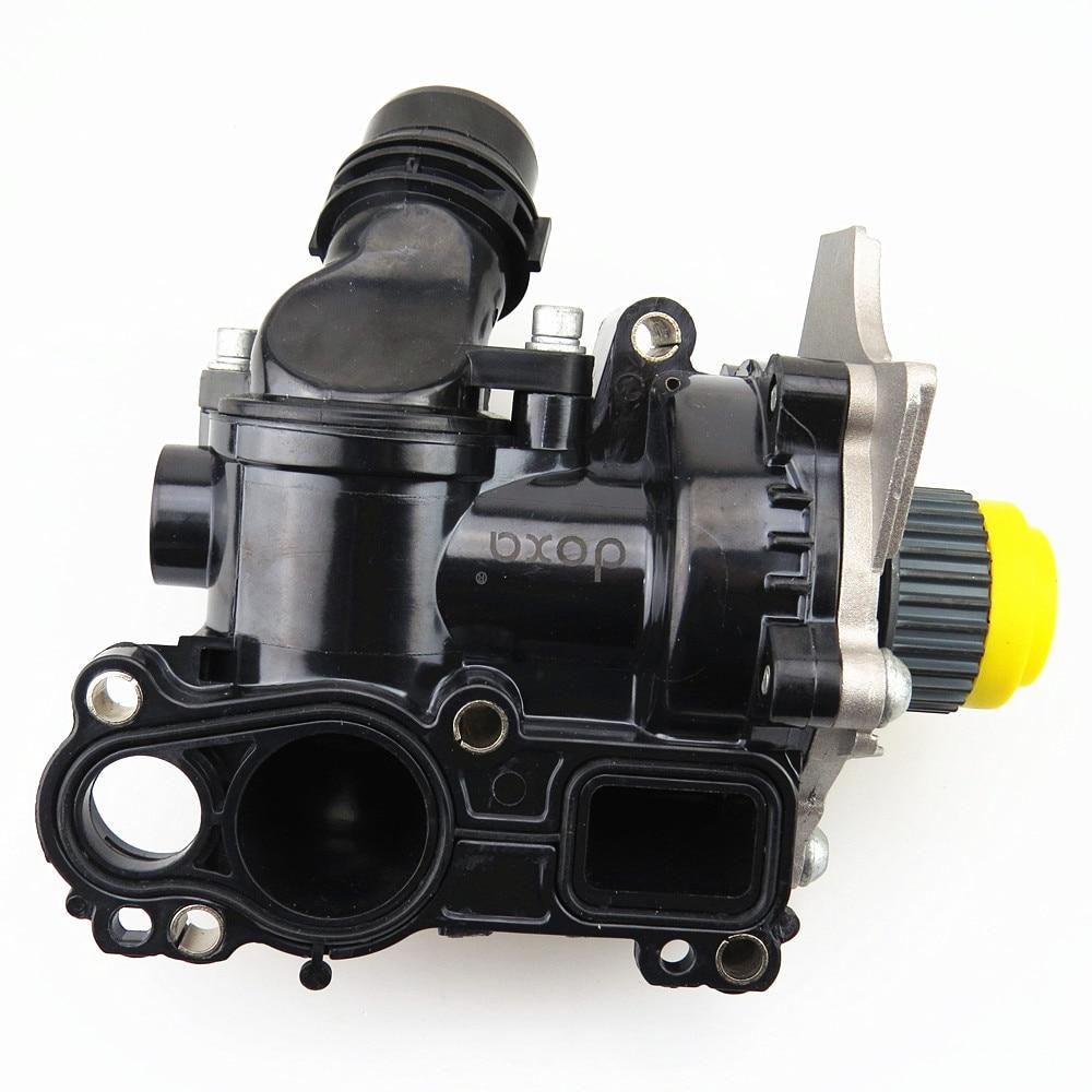 DOXA 1.8T 2.0T Engine Cooling Water Pump Assembly For Golf MK6 Passat B6 CC Tiguan A3 A4 A5 Q5 TT Seat Leon 06H 121 026 new ea888 engine water pump assembly 06h 121 026 cq for vw passat golf gti tiguan jetta 1 8t 2 0t audi a3 a4 a5 q5 tt 1 8t 2 0t