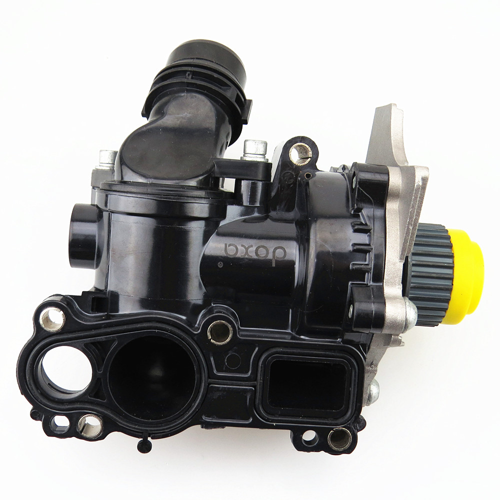 DOXA 1.8T 2.0T Engine Cooling Water Pump Assembly For VW Golf Jetta MK6 Passat B6 CC Tiguan A3 A4 A5 Q5 TT Seat Leon 06H 121 026 tuke engine cooling water pump assembly 06h 121 026 06h121026ab for 1 8t 2 0t vw jetta golf tiguan passat cc octavia seat leon