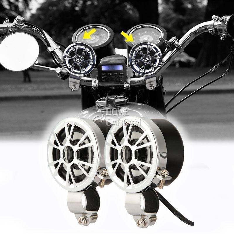 Mini stiprintuvo radijo MP3 rankenėlės kalno motociklų - Motociklų priedai ir dalys - Nuotrauka 2