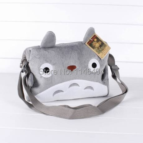 apan Anime My Neighbor TOTORO Cute Plush Shoulder Messenger Bag Cawaii Soft Bag Toy