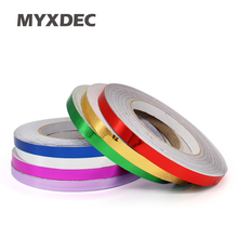 30 Meters Chrome Gold Silver Red Blue Mirror Vinyl with Bubble Air Release DIY Wrap Sheet Film Car Sticker Decal Car Styling