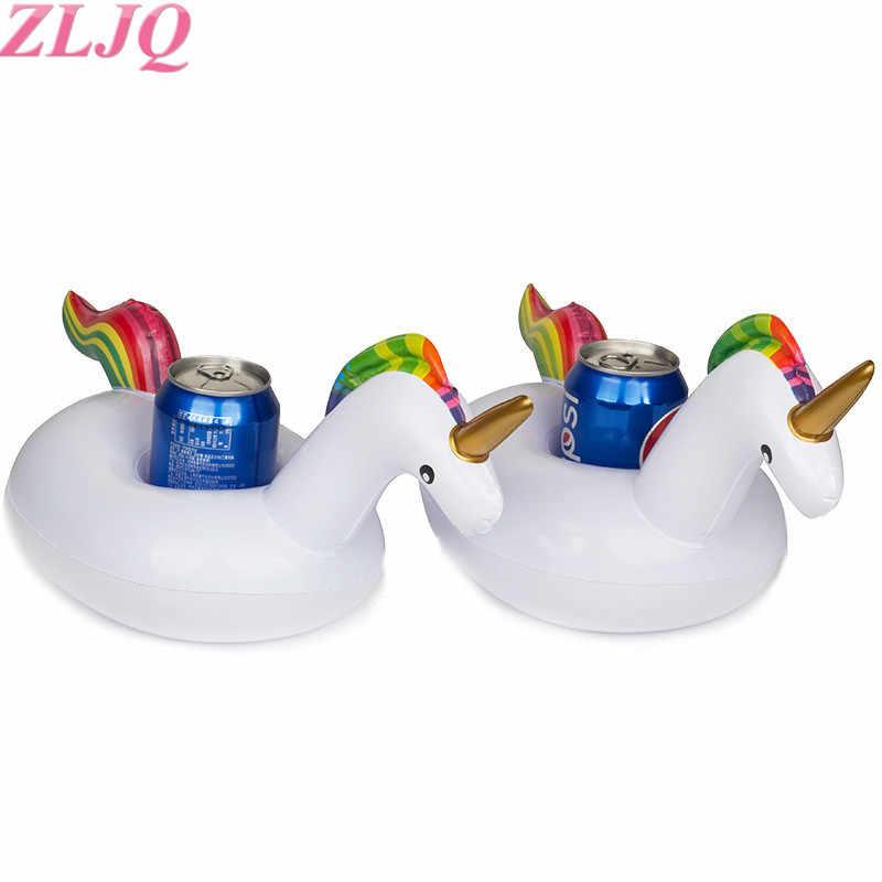 ZLJQ Единорог стакан держатель Фламинго лодки телефон стенд плавающий Держатель