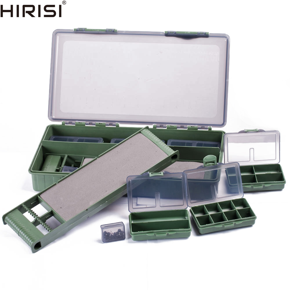 Carp Coarse Sea Fishing Tackle Box Bit Complete Boxes System Ideal for Hooks Swivels Beads Spinners Tackle