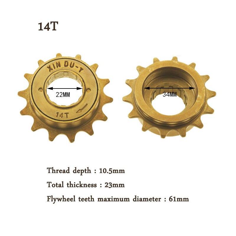 Single Speed Freewheel 12T Steel Bike Bicycle Flywheel Cycling Accessories