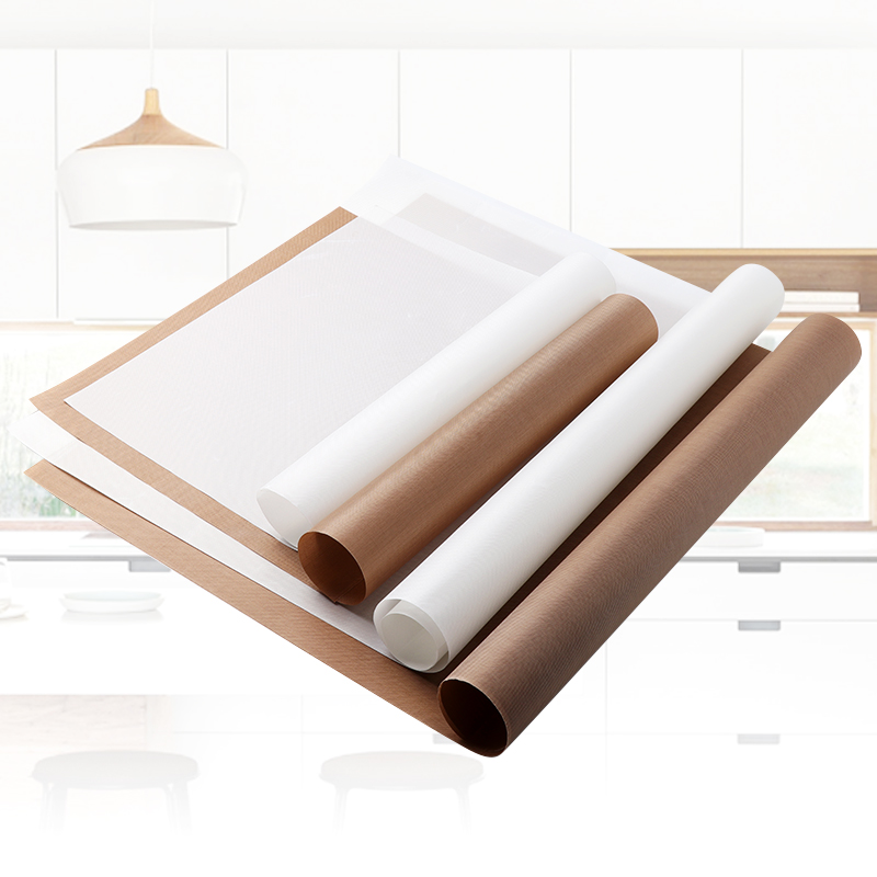 Reusable Baking Mat High Temperature Resistant Teflon Sheet Pastry Baking Oilpaper Heat-resistant Pad Non-stick For Outdoor Bbq(China)