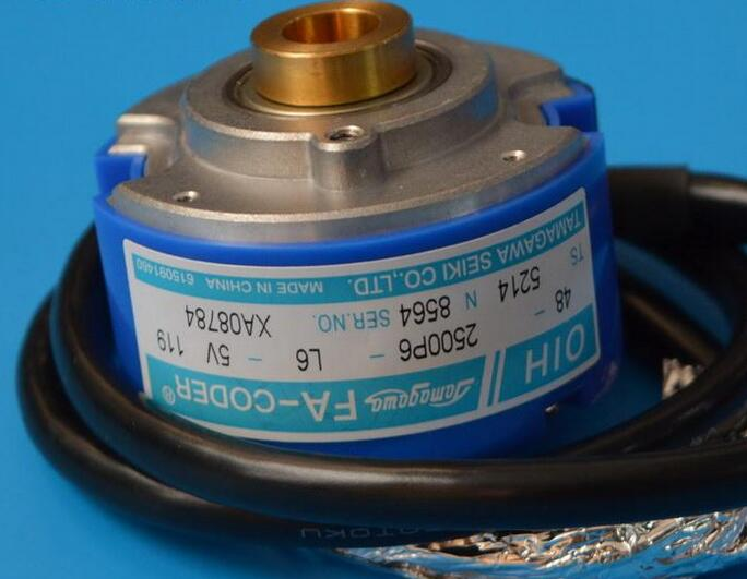 Genuine Japanese Tama ga wa 2500P / R speed encoder TS5214N8564 OIH48-2500P6-L6-5