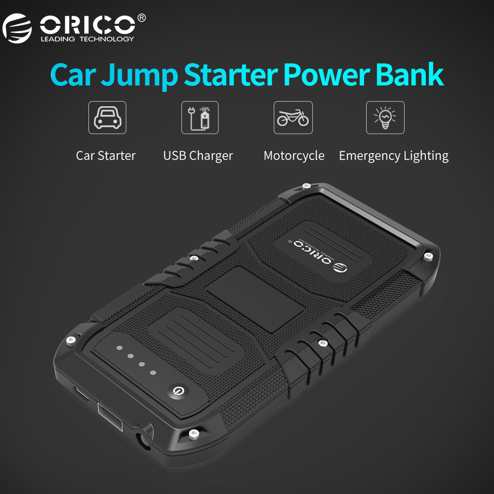 ORICO Multi Function Car Emergency Battery Charger Mini