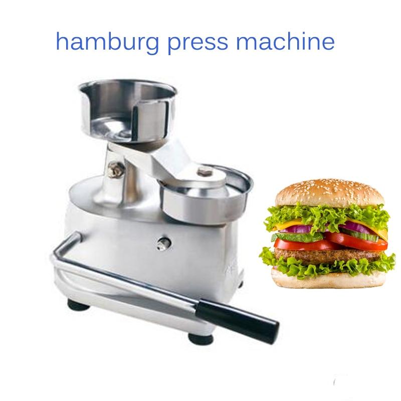 manual hamburg press machine Commercial hamburger maker Hamburger molding machine HF-130 100mm manual hamburger machine hamburger press machine beef mold machine crab cake form machine
