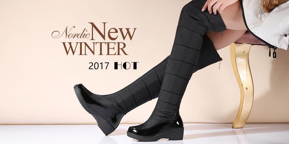 48 a069 otoño Botas botas plano para de primavera planas largas la grandes 34 sgesvie mujer tacón caña botas tallas mujer de sobre botas rodilla alta qrq741SA
