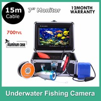 Hotsales Fish Finder Fishing Underwater Video Camera 700 TV Line 7 LCD Monitor 15M Cable 92degree Wide Angle