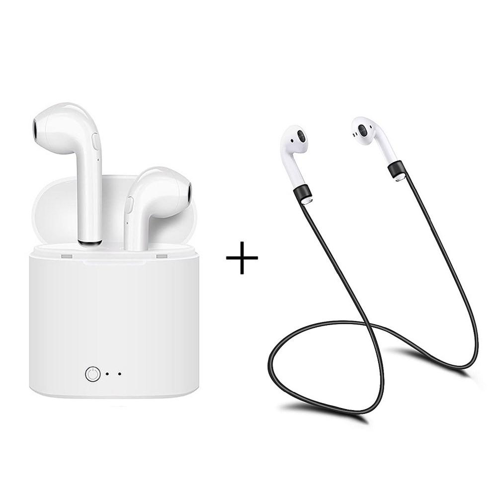 For Apple Wireless Earpods Fone Headphones Bluetooth Earphone Headphone Phones Neckband Sport Earphone Auriculare Xiomi Headset