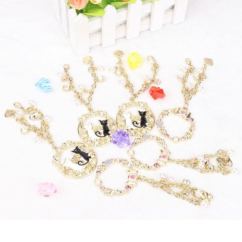anime Sailor Moon 25th anniversary Senshi luna Artemis Sailor Jupiter bag charm keychain cosplay