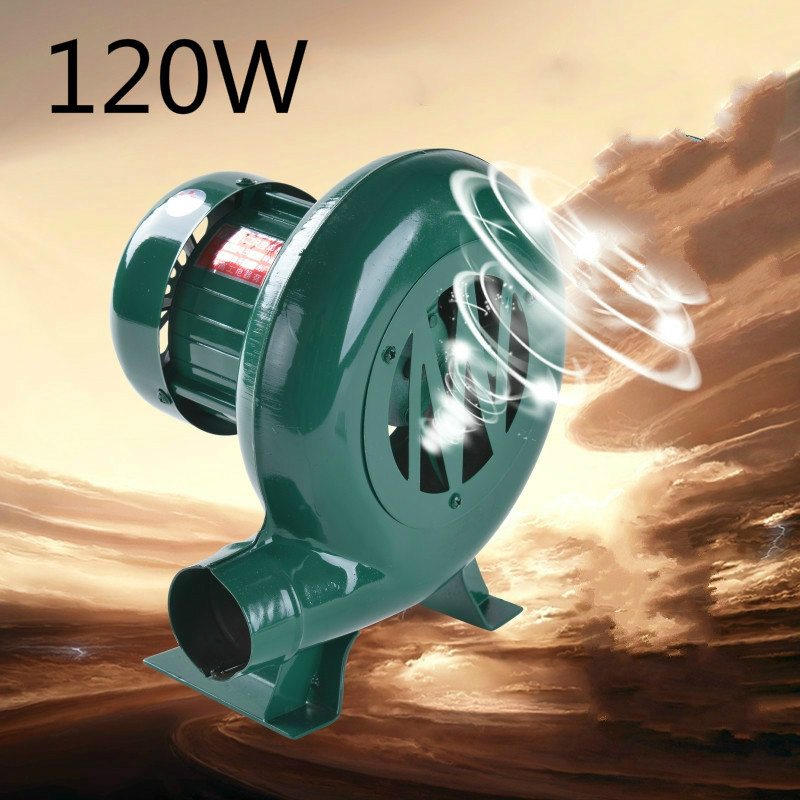 Blower Domestic 120W blower Barbecue blower Vaporization furnace Dining room boiler Gasification furnace Heating stove blower barbecue blower electric blower wood charcoal barbecue tool accessories outdoor home barbecue use 4 aa batteries