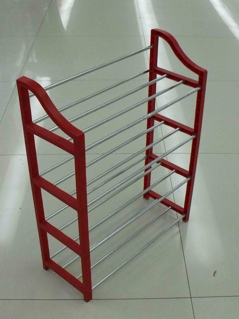 Hot sell 4 layer shoe rack