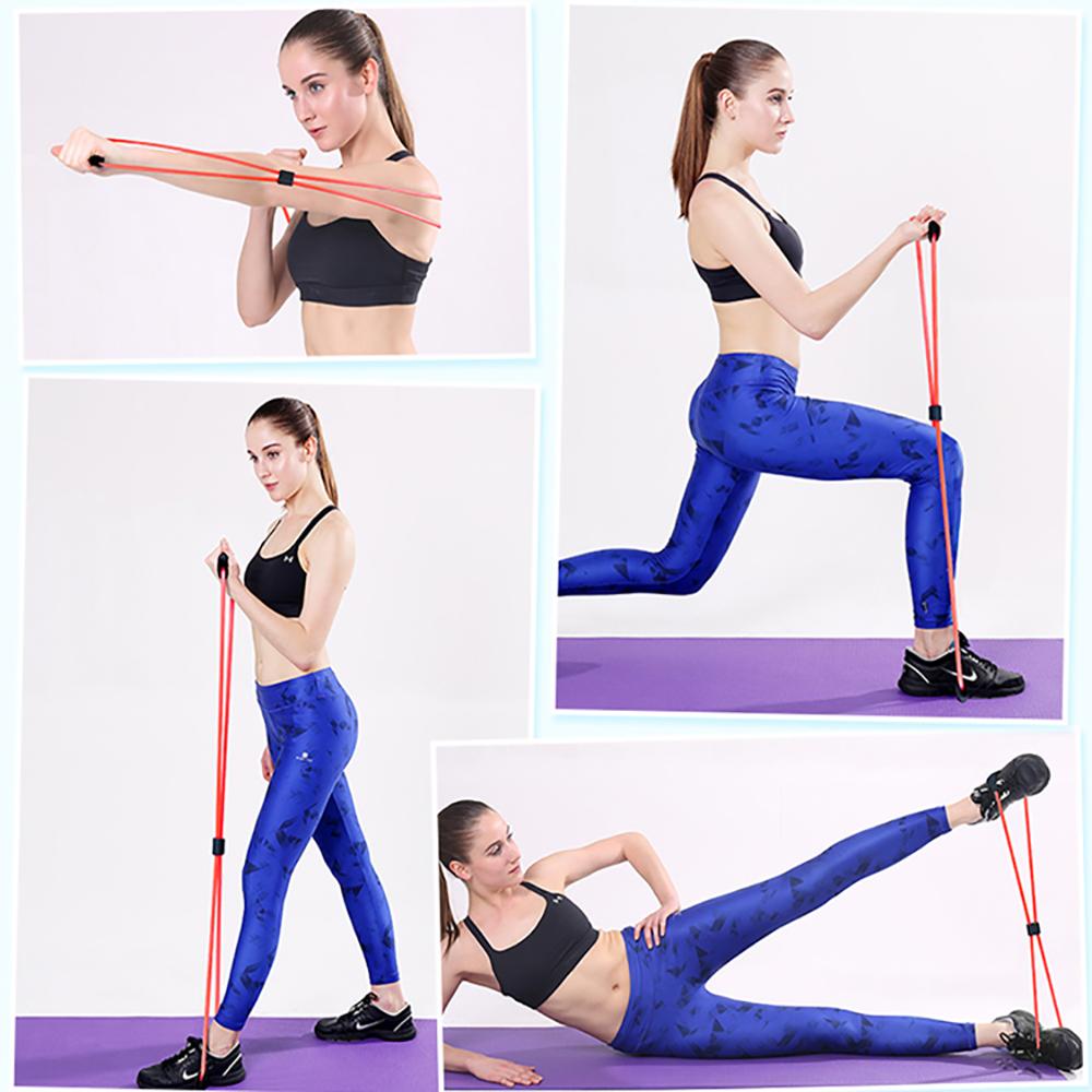 Bandas de resistencia para ejercicio físico 6