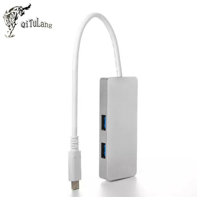 Multi 3 Portas USB Divisor de Alta Velocidade Hub USB 3.0 Portátil Periféricos de Computadores Portáteis Acessórios Para Computador