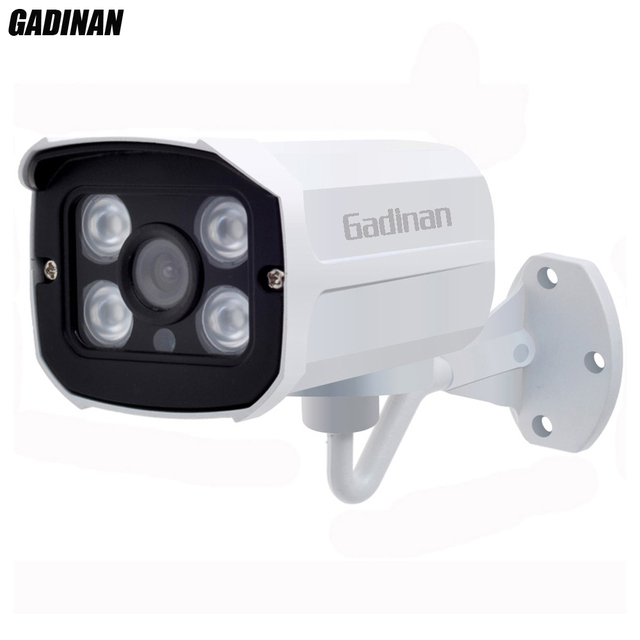 Gadinan qualidade picaretas super cctv 3mp real 2048*1536 câmera ahd-q concha de metal de segurança de vigilância de vídeo ao ar livre cam à prova d' água