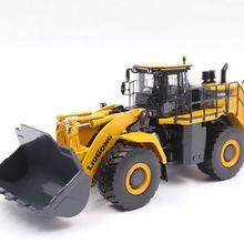 Коллекционная модель из сплава, игрушка в подарок, 1:50 Масштаб, Liugong 8128 H, колесный погрузчик, Строительная техника, литая модель, игрушка для украшения