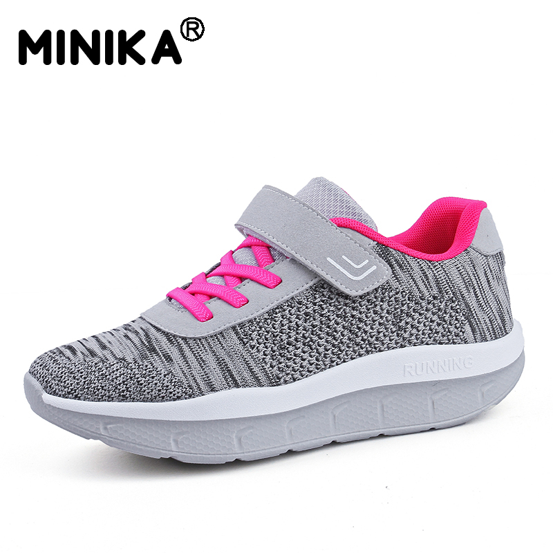 Detail Feedback Questions about Minika Women Platform Sneakers Slimming Swing  Shoes Girls Outdoor Fitness Shoes Wedges Toning Shoes Breathable Plus Size  35 ... 82664f371470