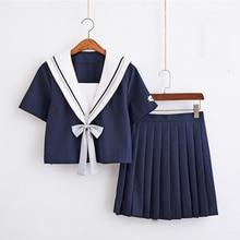 UPHYD Japanese Seifuku Summer Sailor Suit Students School Uniform For Teens Preppy Style Cos Uniform