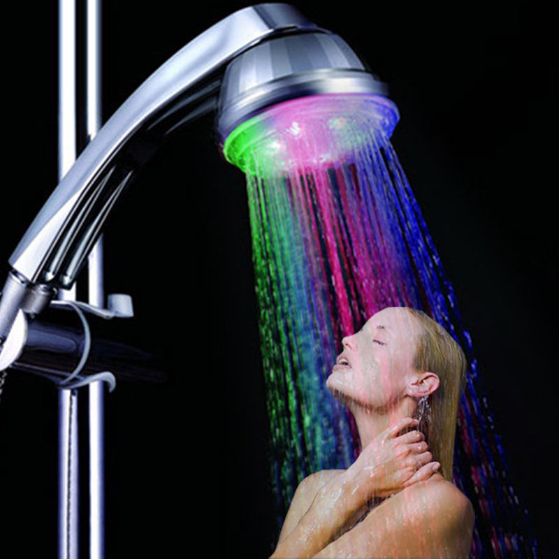 39 pcs/lot Fashion LED Shower Heads Multiple Shower Heads Bath Room ...