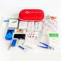 23 Pieces Set of Portable First Aid Kit Waterproof Family Outdoor Travel EVA Emergency Medical Kit Survival Car First Aid Kit