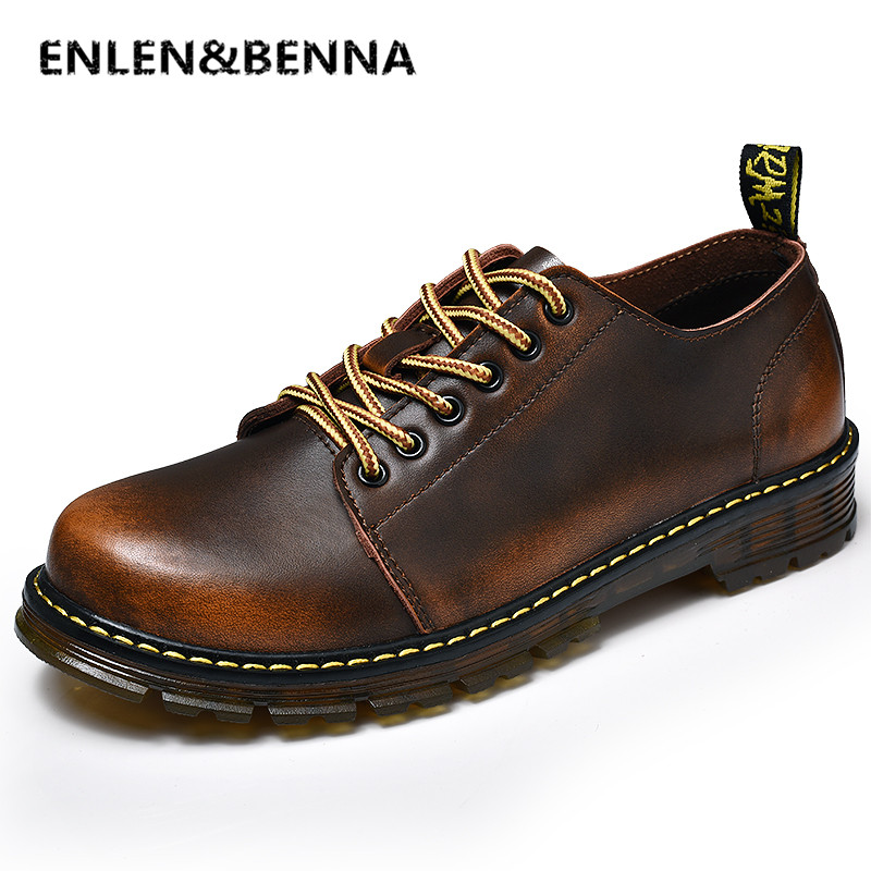 Men Genuine Leather Casual Shoes Leather Brand Men Shoes Work Safety Boots Designer Men Flats Men Work & Safety Shoes Size 38-46 amaginmni men genuine leather casual shoes leather brand men shoes work safety boots designer men flats men work