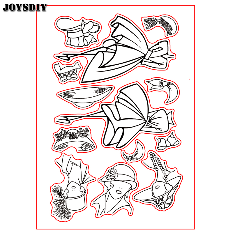 DIY FASHION LADY CLOTHS SKIRT Scrapbook DIY photo cards account rubber stamp clear stamp transparent stamp Handmade card stamp scrapbook diy photo cards account rubber stamp clear stamp transparent stamp ancient lady hanger mirror paris 14x18cm sd136