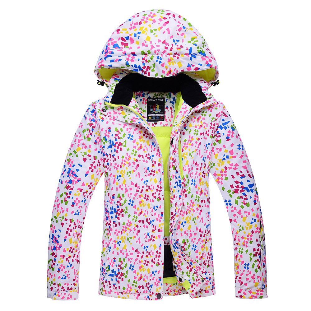 Female snow jacket waterproof windproof thermal snowboard coats hiking camping jacket winter ski jacket for WomenFemale snow jacket waterproof windproof thermal snowboard coats hiking camping jacket winter ski jacket for Women