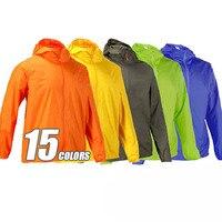 2016 New Mens Women Outdoor Jackets Waterproof Windproof Ultra Light Jacket Men Army Windbreaker Quick Dry