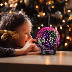 Image 4 - 7 LED Color Lighting Modes 3D Aromatherapy Essential Diffuser Fragrance Oil Humidifier Firework Theme Premium Ultrasonic Mist