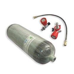 AC268101 hpa cilindro 6,8 Ldot botella pistola de aire paintball armas de caza subacuáticas rifle aire comprimido pcp globo para buceo