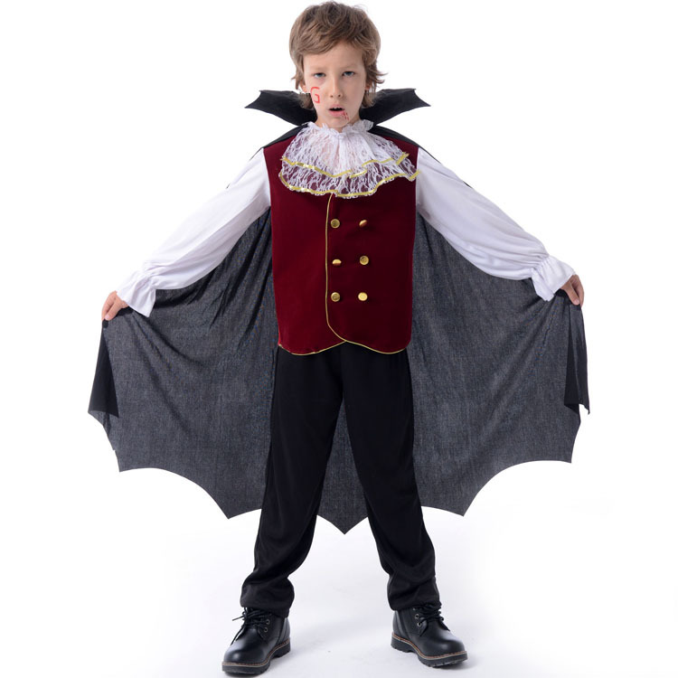 Children Halloween Cosplay Costumes Kids Prince Clothes
