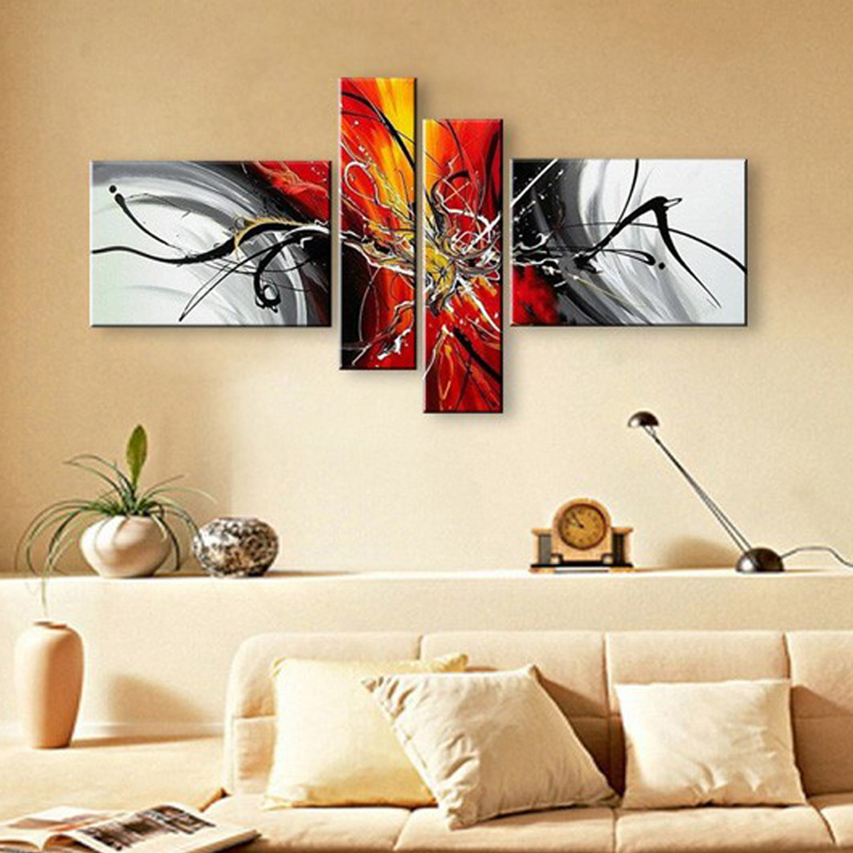 Wall Paintings For Living Room Online Buy Wholesale Red Wall Art From China Red Wall Art