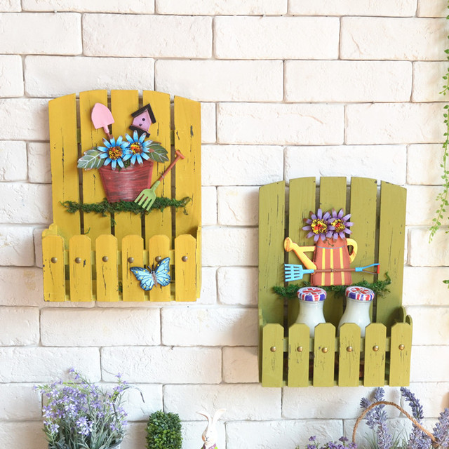 Aliexpress.com : Buy American country style painted old wooden wall ...