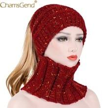 Nuevo diseño moda mujer caliente sombrero bufanda conjunto mujer punto O  ganchillo anillo bufandas invierno gorros tejidos para . 43d393b2150