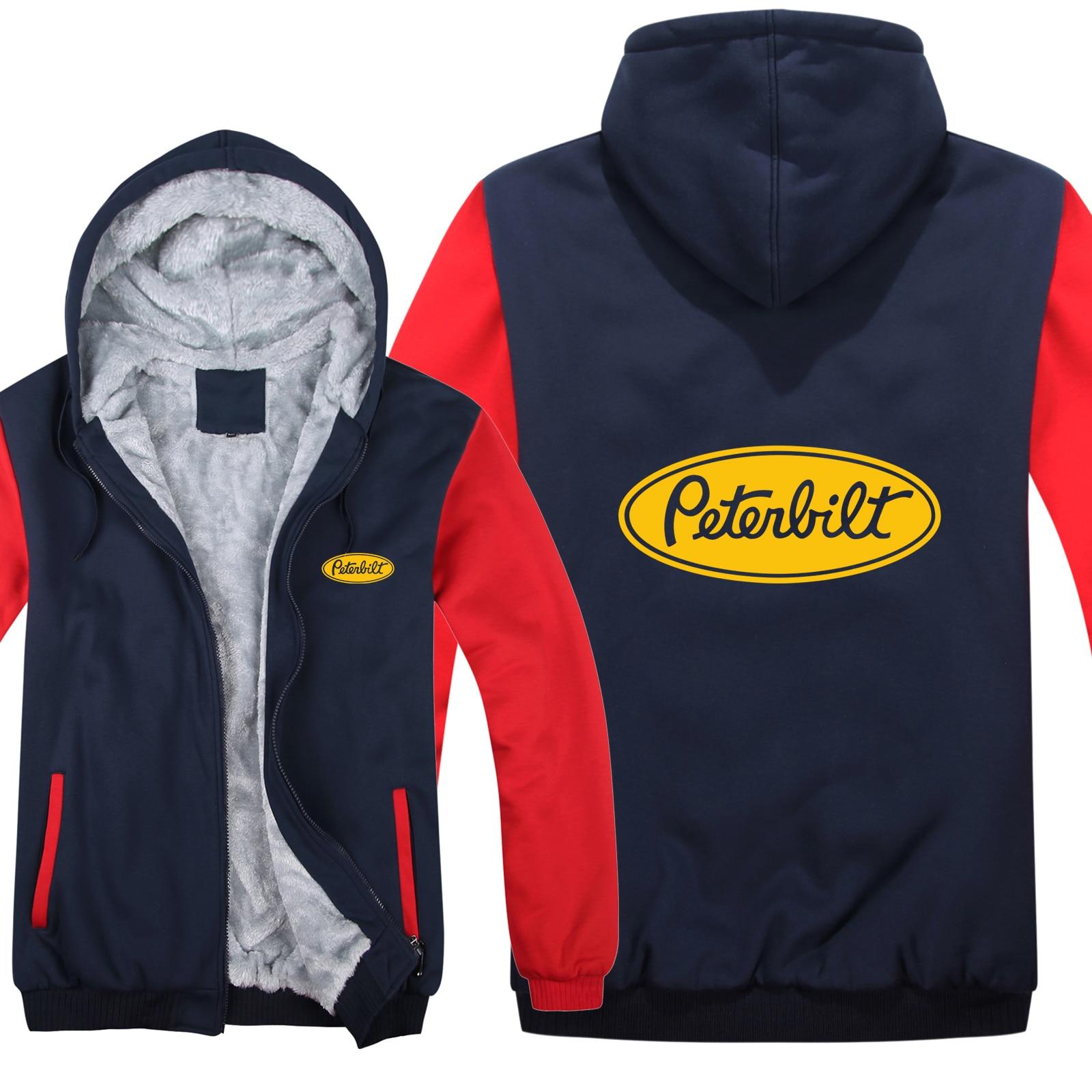 Image 5 - Грузовиков peterbilt, толстовка с капюшоном для мужчин, модный  теплый шерстяной свитер, зимняя куртка Peterbilt, Толстовка для мужчин,  пальто, HS 019Толстовки и кофты
