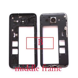 """Image 3 - front lcd screen middle bezel Battery Door Back Cover Housing Case for Huawei Y3 2017/Y3 2018/Y5 lite 2017  5.0"""""""