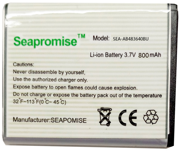 Free shipping  retail AB483640BU battery for samsung GT-C3050C GT-S7350C SCH-F619 GT-C3050 SGH-F110 SGH-F118 SGH-E740 SGH-L600