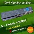 JIGU Бесплатная доставка в Исходном Батареи ноутбука Для Toshiba Satellite L735D L750 L750D L775 L775D 10.8 В 48WH