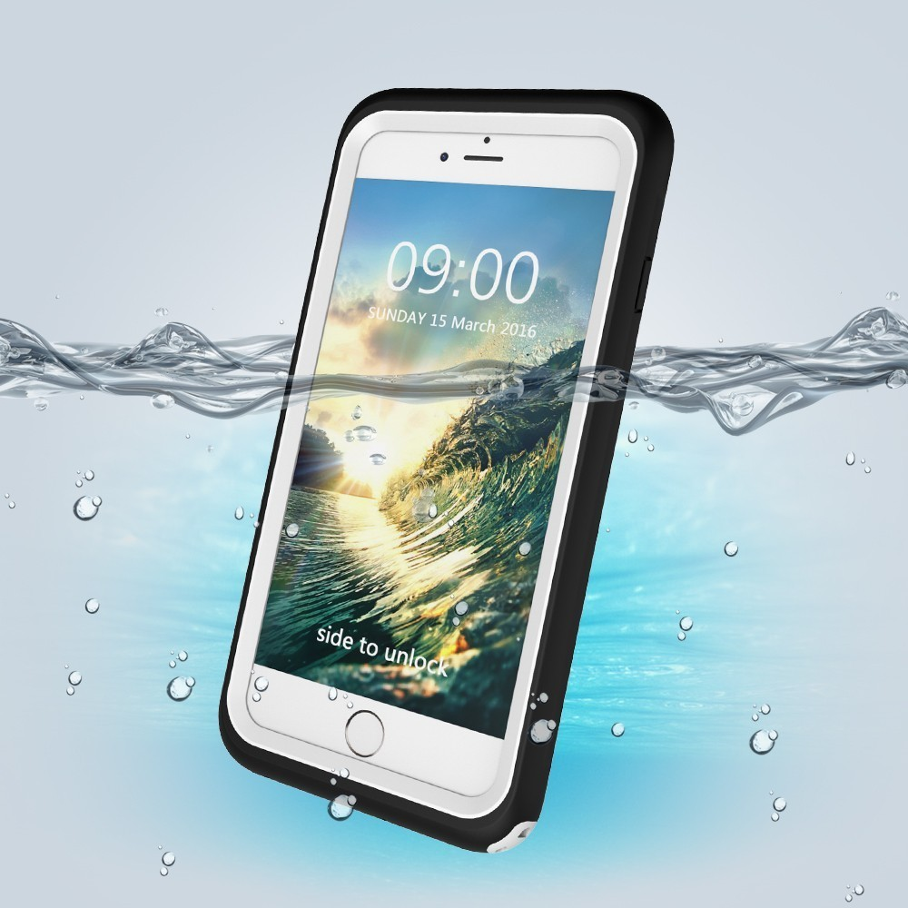 New Arrivals With Key IP68 Rafting Surfing Swimming Waterproof Diving For Apple X 6 6s 7 8 Plus Phone Case Cover Defence Shell