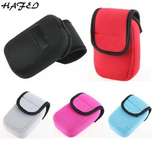 HAFEI Hot Digital Camera Case Cover Bag For Sony HX90 WX500 RX100 RX100II RX100M3 RX100M4 HX60 Soft Protective Pouch 5 Colors